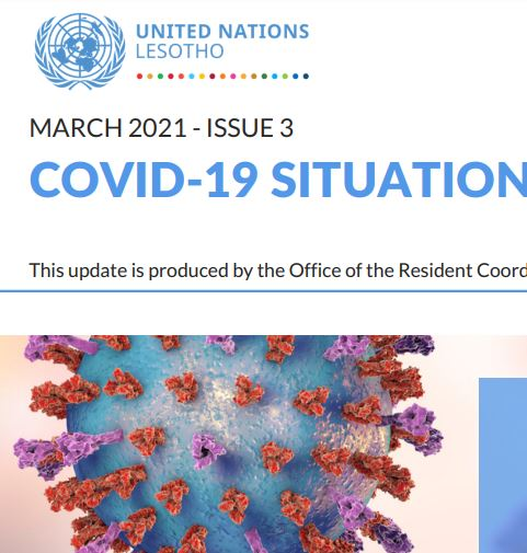 COVID-19 Situation update: Issue 3
