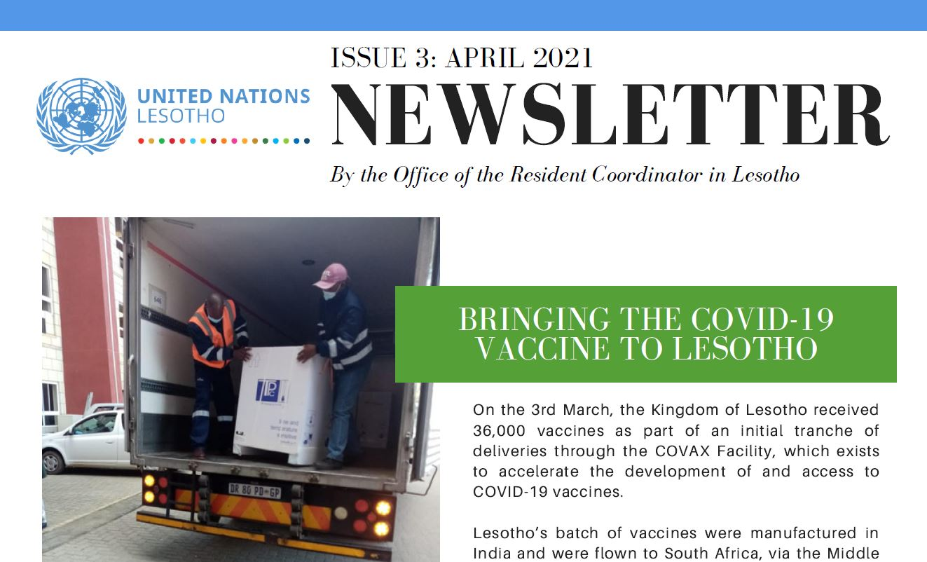 UN Lesotho Newsletter- Issue 3