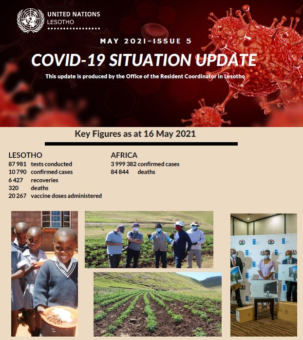 COVID-19 Situation Update: Issue 5