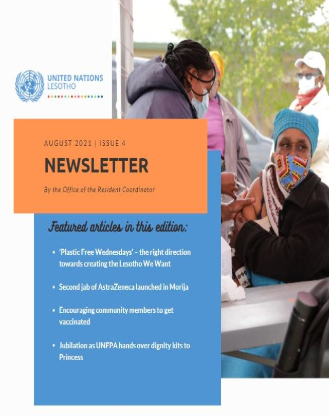 UN Lesotho Newsletter: Issue 4