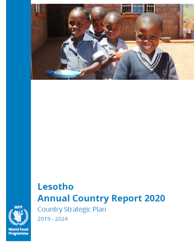 Lesotho Annual Country Report 2020