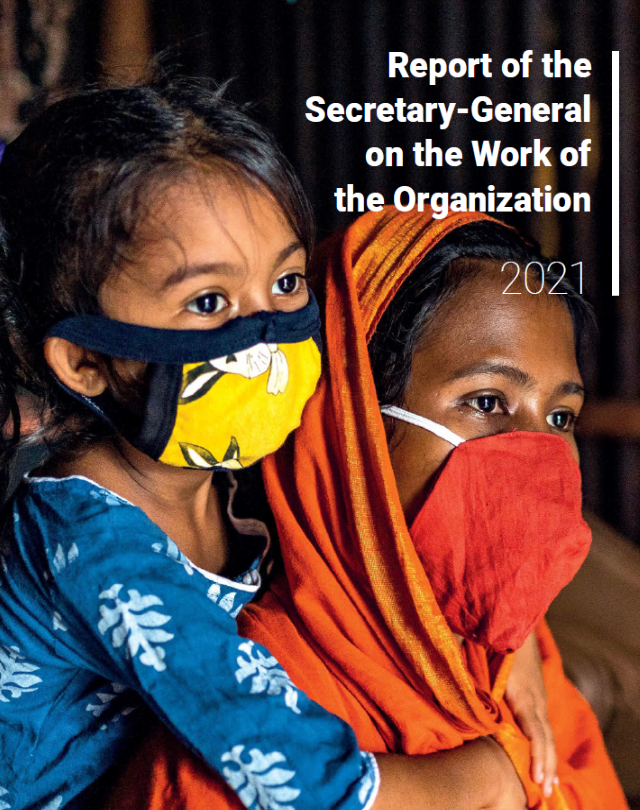 Report of the Secretary General on the Work of the Organization 2021