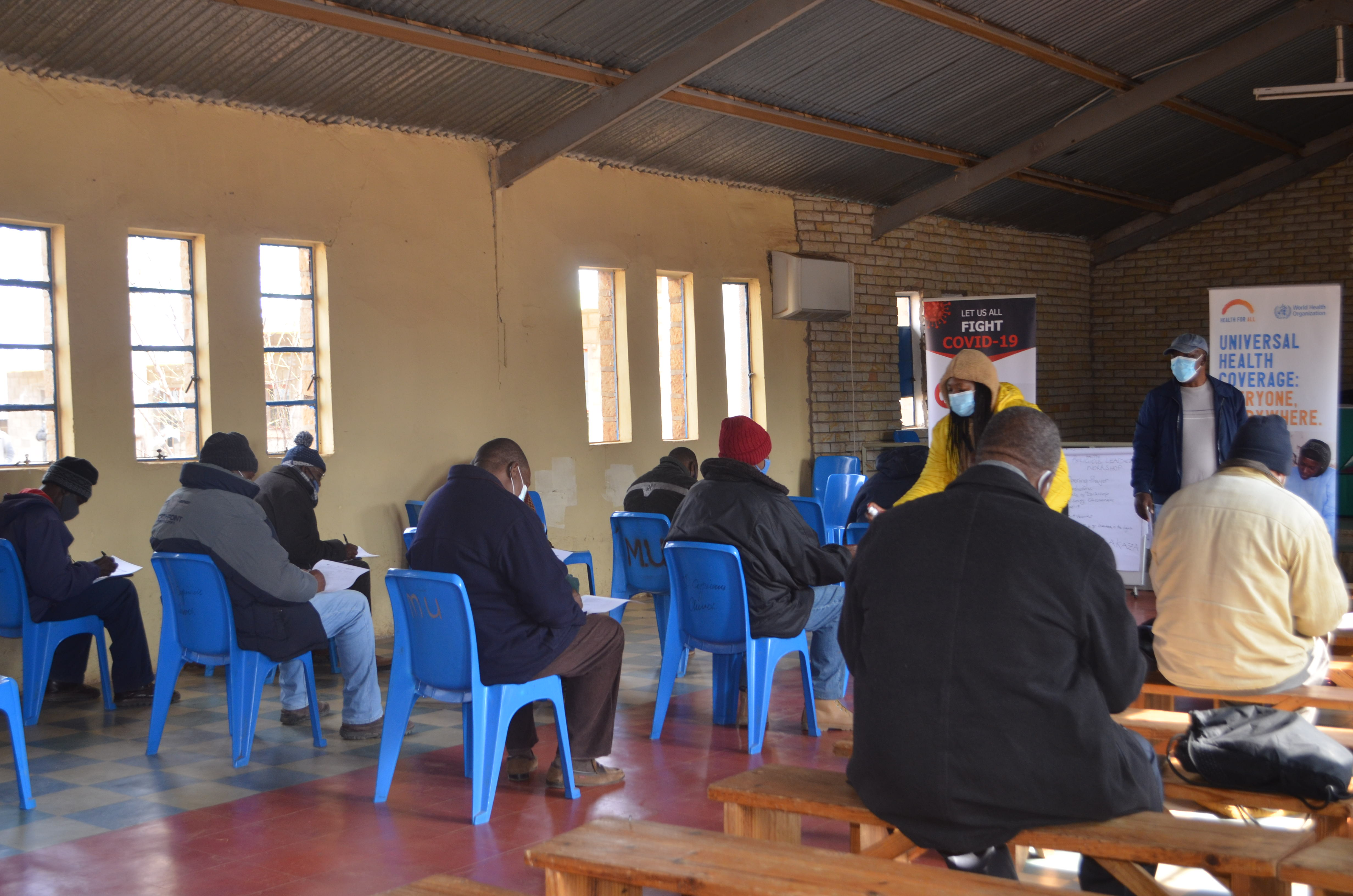 Raising faith in COVID-19 vaccines in Lesotho