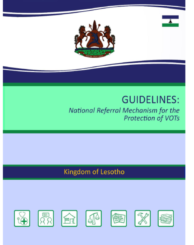 Guidelines: National Referral Mechanism for the Protection of VOTs
