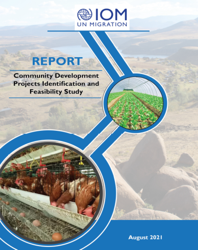 Community Development Projects Identification and Feasibility Study Report