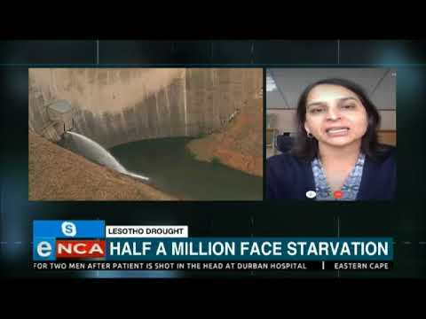 Half a million face starvation in Lesotho amid drought- ENCA Interview
