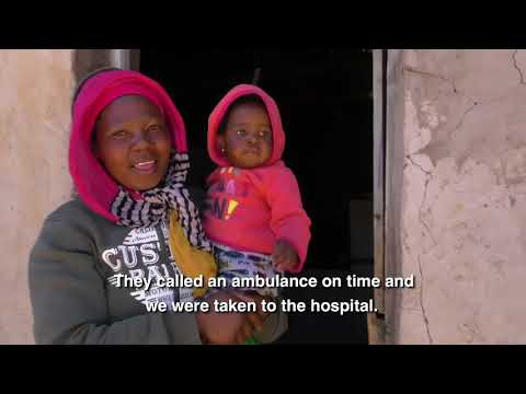 UNICEF Lesotho response during current drought emergency